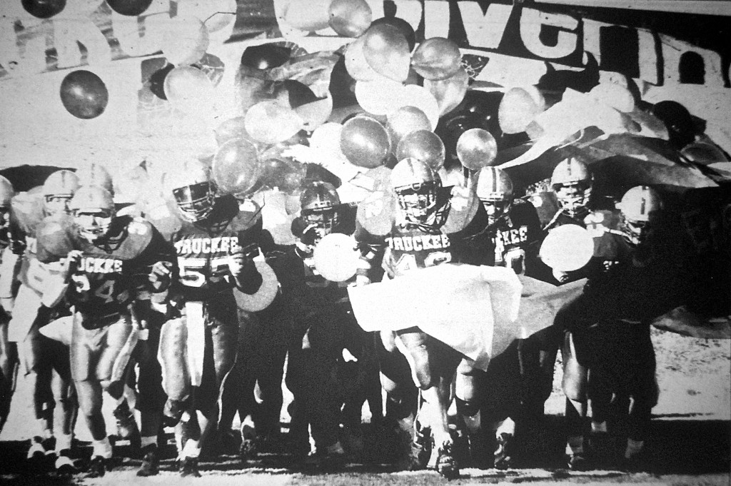 Truckee Pride erupts in 1989.