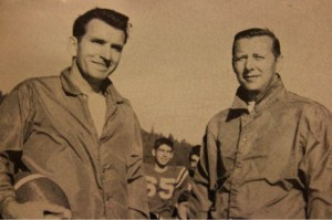 Coach Wilson and Coach Greene 1965