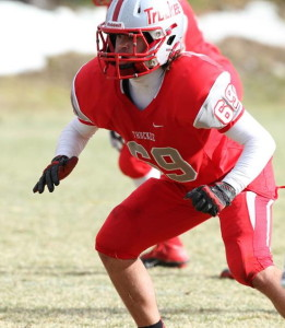 Mitch led Truckee in tackles in with 87. He had 17 tackles at Sparks and was all over the field.