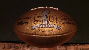 Gold NFL Football