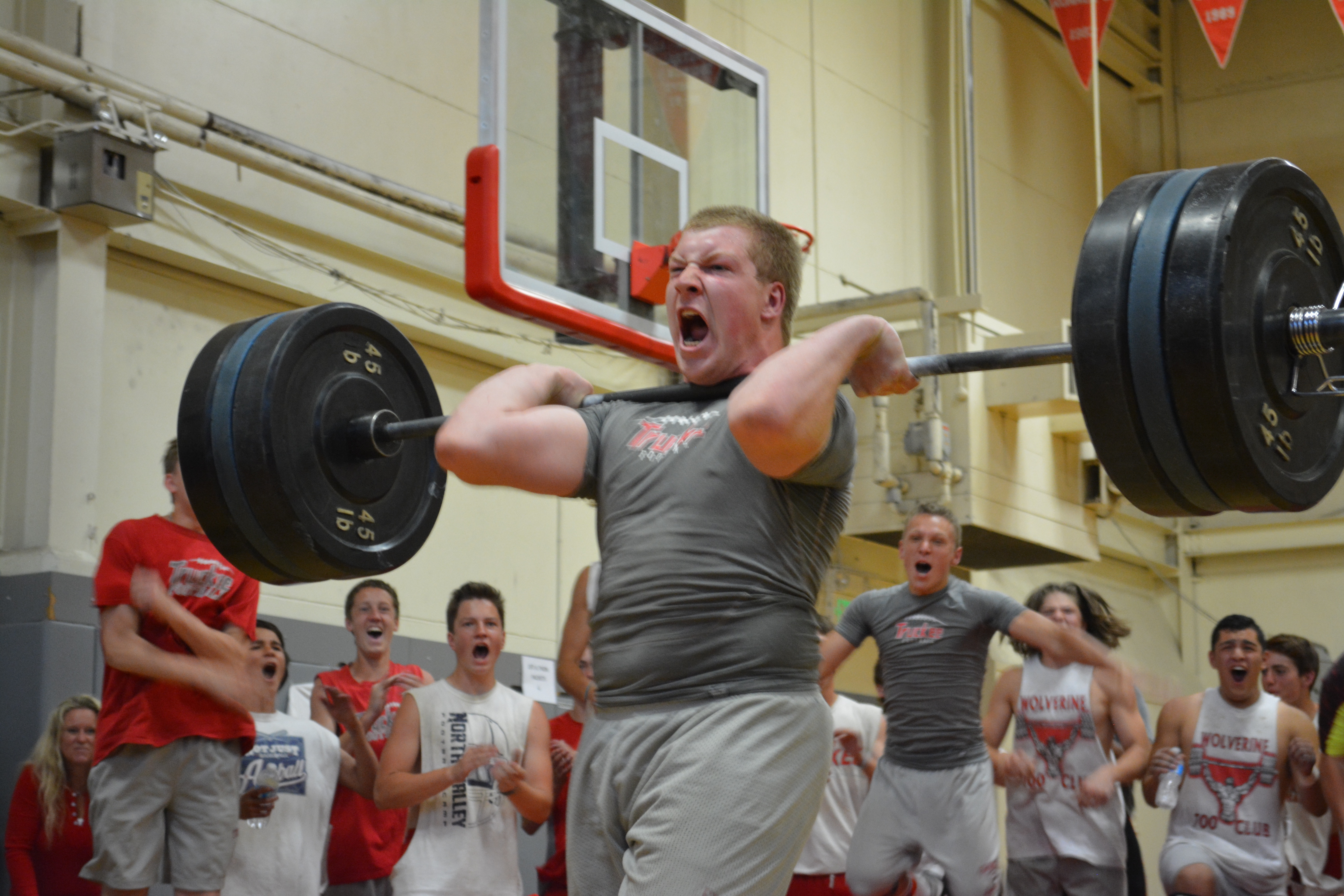 Swalander took down the Truckee Lift a Thon record with a 315 lb. clean!