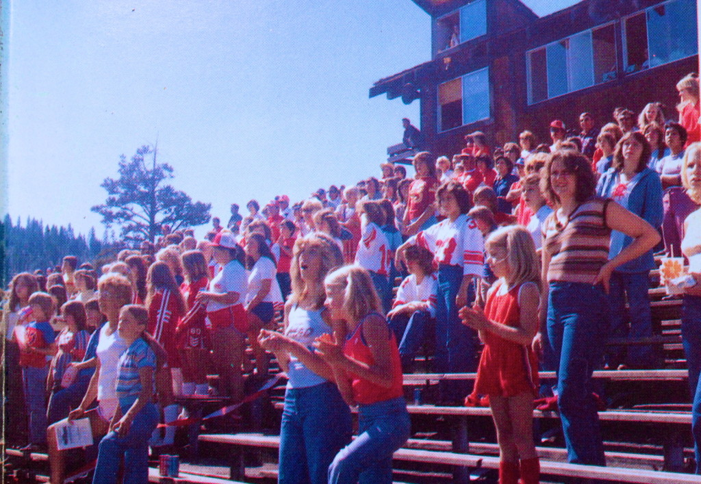 Surprise Stadium's faithful in 1979