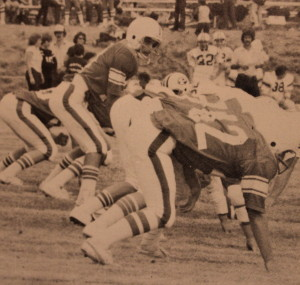 (17) QB Jerry Sassarini passed for over 1,200 yards in Brolliar's offense in 81'