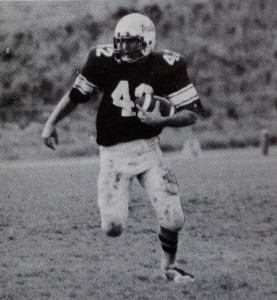 Buccieri was a first team All-League and All-State running back in 82'