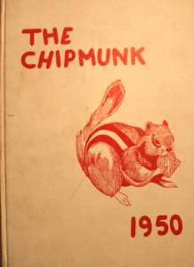 The Yearbook class or committee called the yearbook The Chipmunk