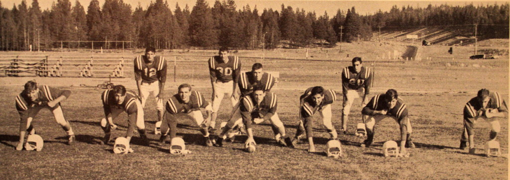 The starting offense 64'