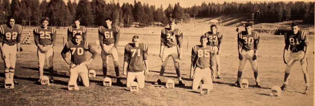 The starting Defense in 1964