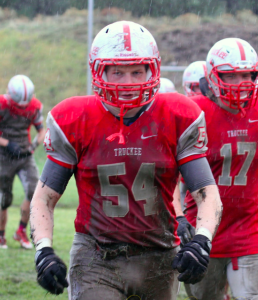 Swlander will anchor the O-Line for Truckee this season as 3 year starter at Guard.