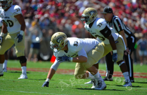 Holmer in 2014 got the start at Stanford